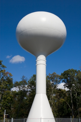 Spheroid Water Tower